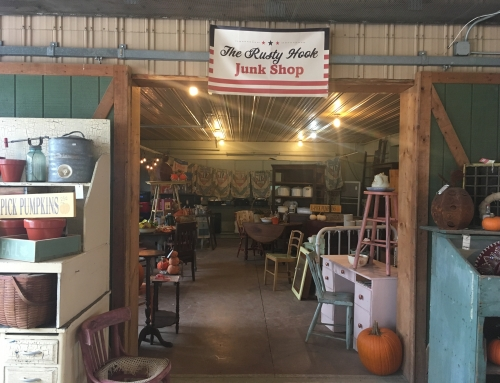 Newly Expanded The Rusty Hook Junk Shop!